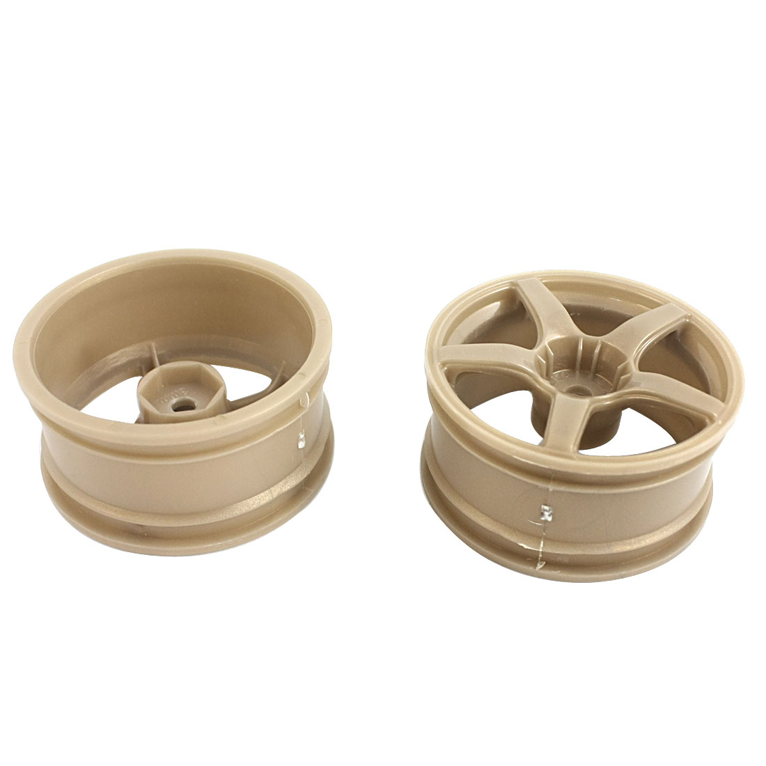 2pcs 1:10 RC Model Flat Racing Car Truck Plastic Drift Wheel Rim 52mm Dia