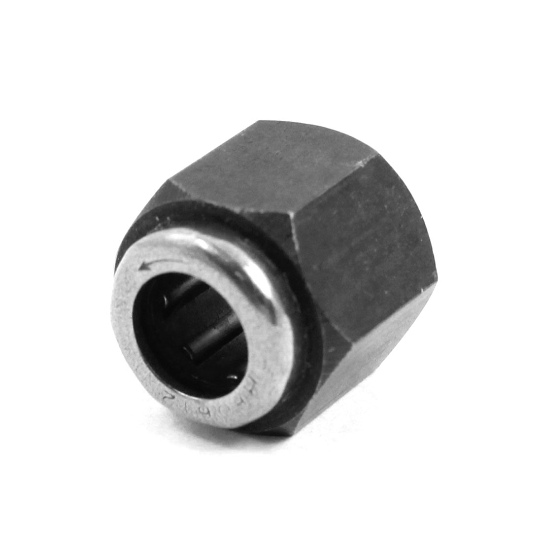 Black Metal Hex Nut One Way Bearing 12mm for 18 Nitro Engine RC 1/10 Car