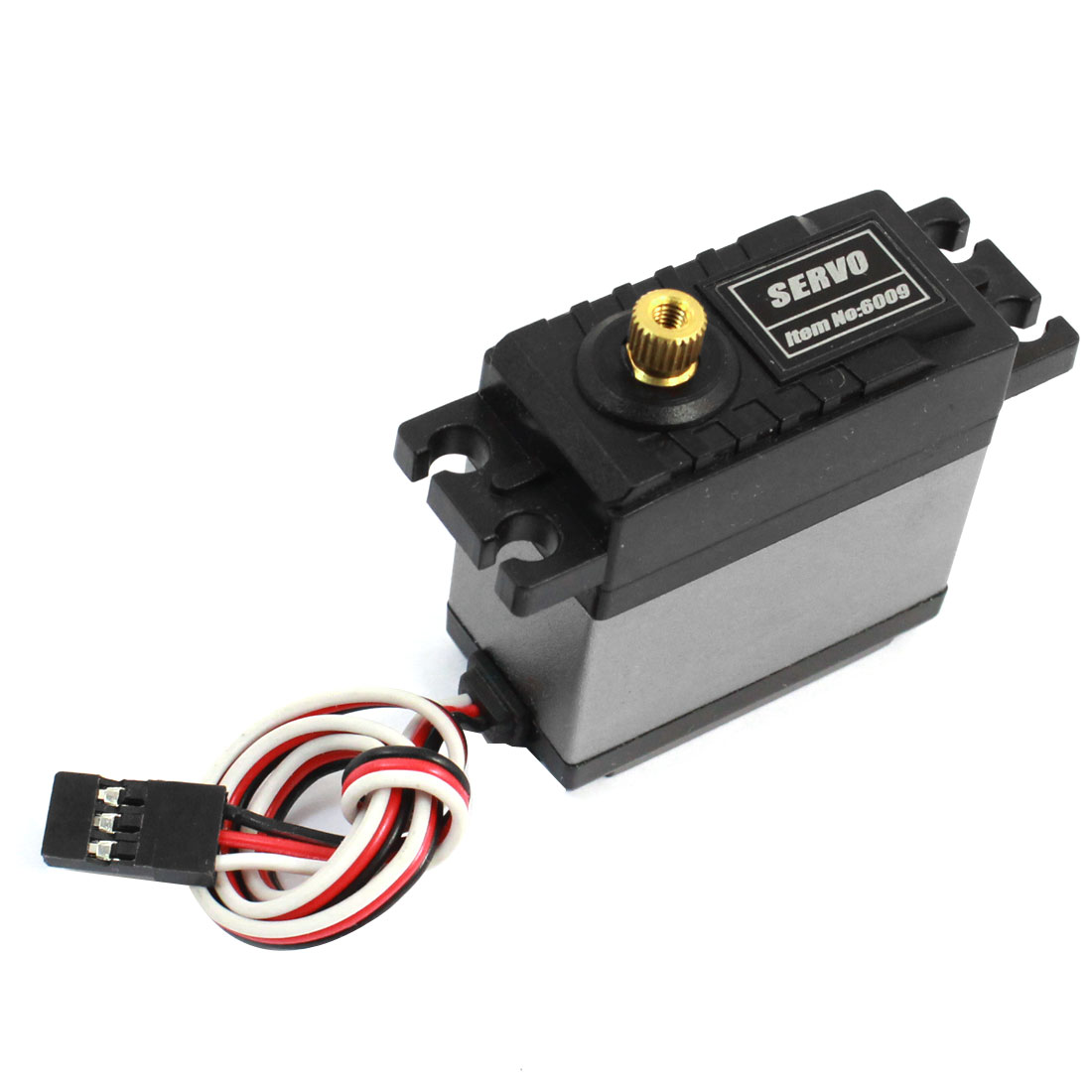 6009 High Torque Metal Geared Steering Servo 9kg for 1/8 1/10 RC Nitro Car
