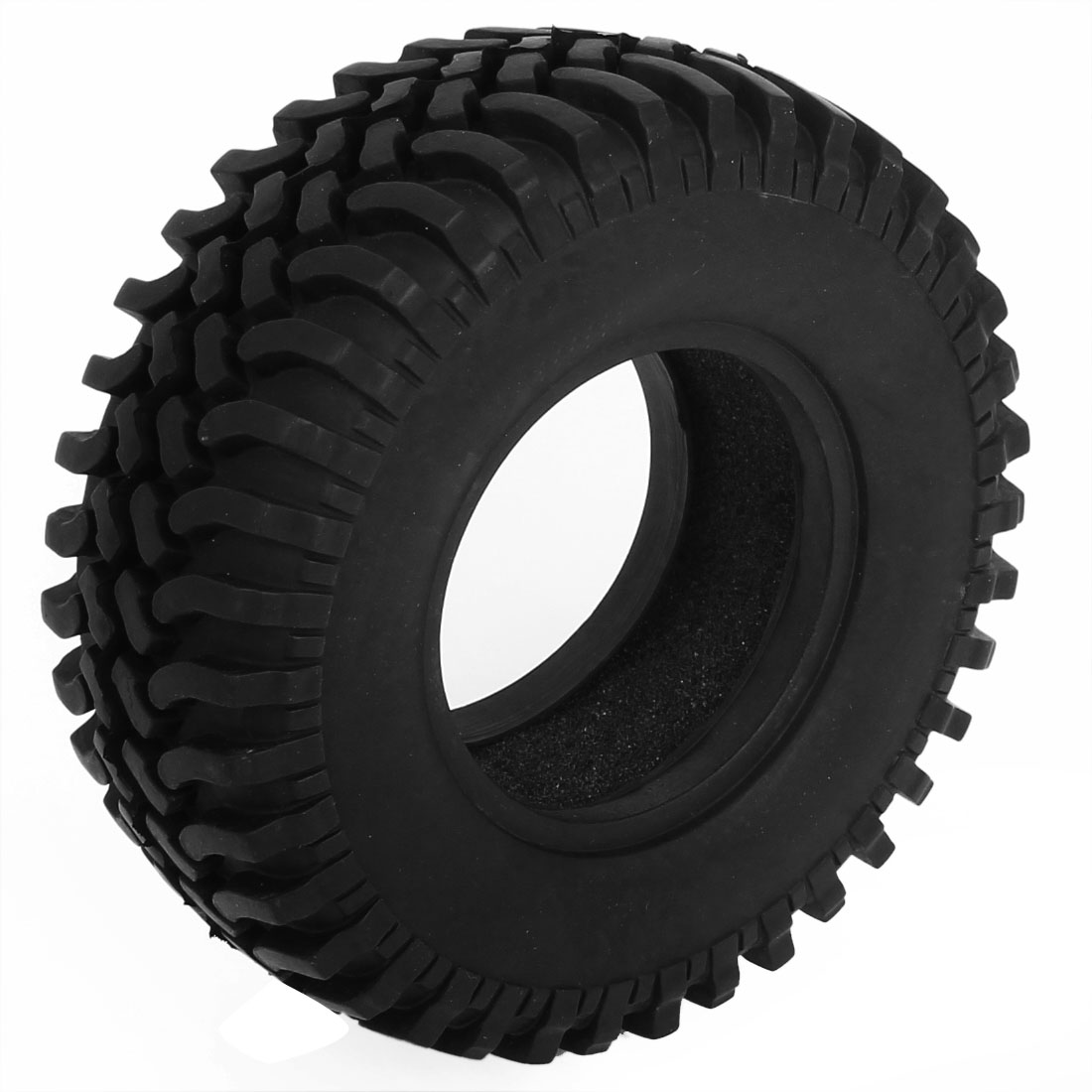 Black Rubber RC Model Car Crawler Tyre Tire 98mm OD for RC4WD F350 SCX10