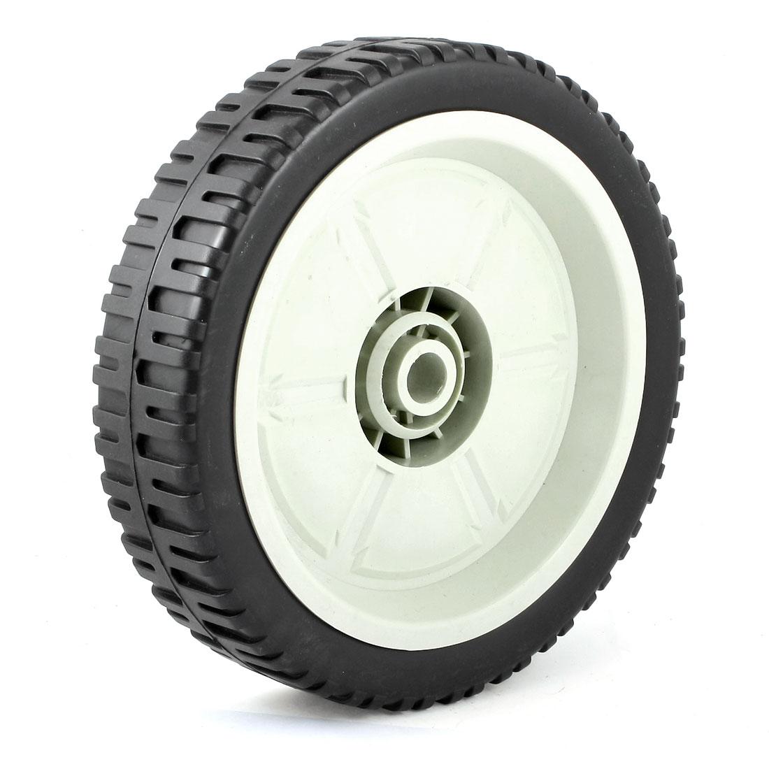 Garden Lawn Tubeless Turf Saver Tire Lawnmower Wheel Gray Black 20cm x 4.7cm
