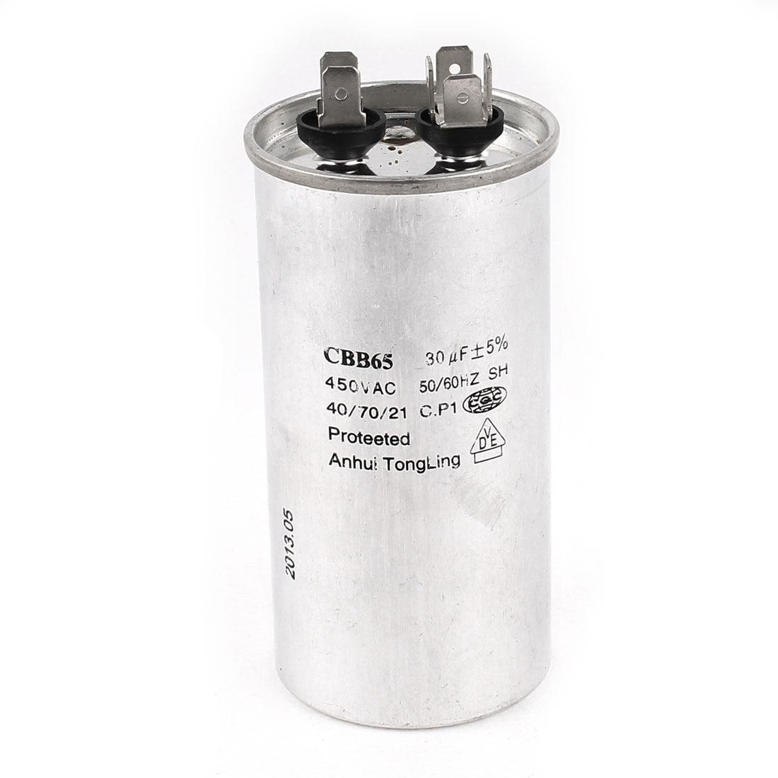 AC 450V 30uF Refrigerator Air Conditioner Motor Running Capacitor CBB65A