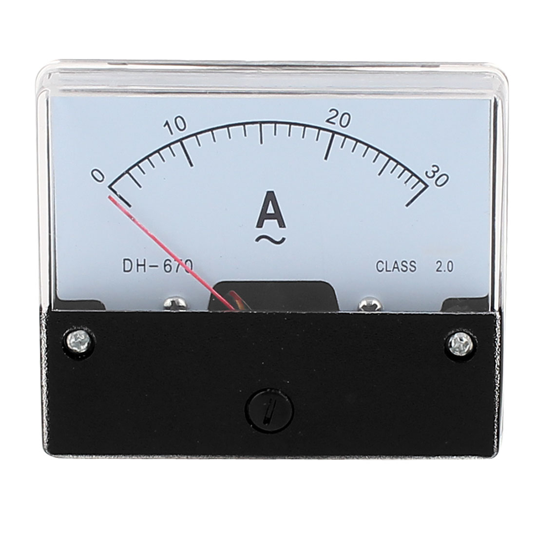 Square Panel 0-30A AC Current Class 2.0A Meter Analogue Amperemeter