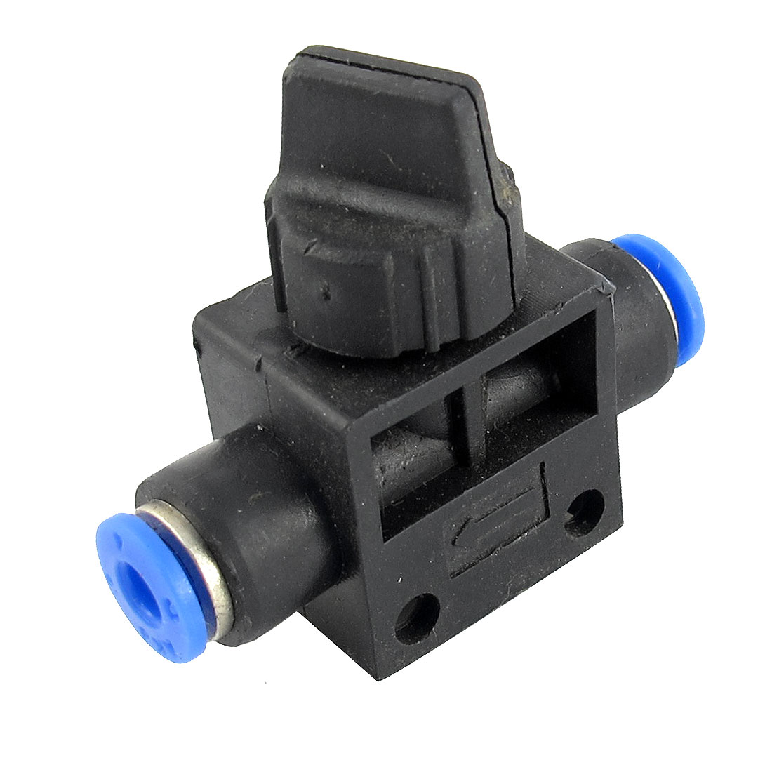 4mm to 4mm Push in Tube 2 Way T-Shaped Air Pneumatic Quick Release Fitting Connector Speed Controller Valve