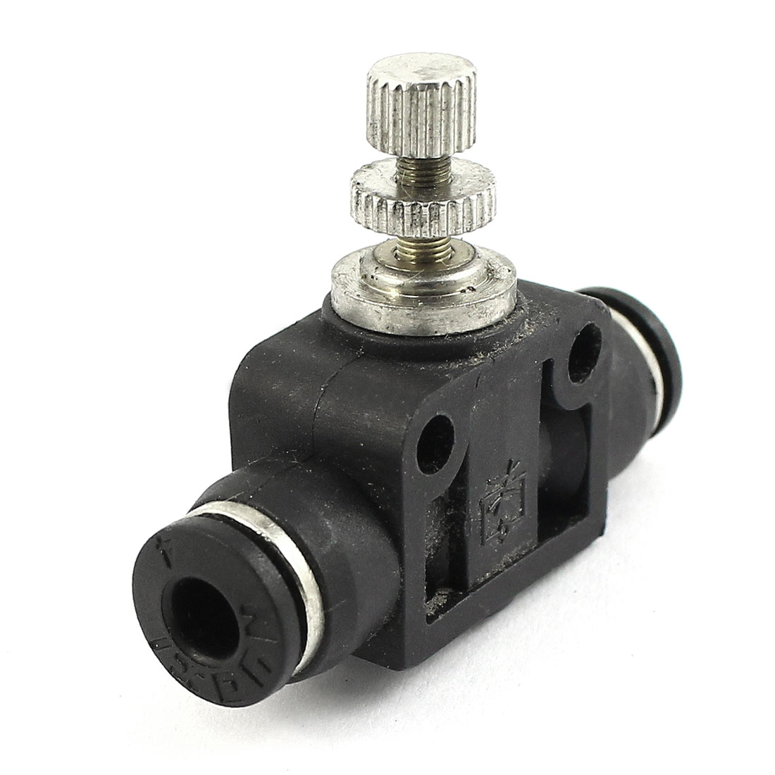 4mm to 4mm Tube Pipe Connector Straight Pneumatic Quick Adapter Speed Control Controller Valve