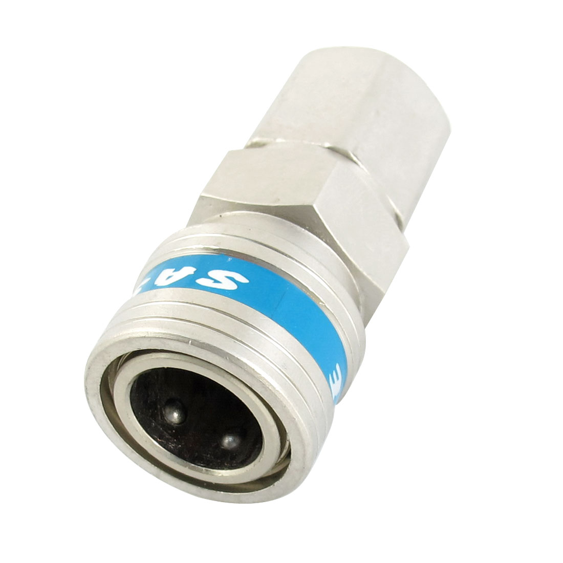 SF20 1/4PT Female Thread Pipe Connector Air Pneumatic Quick Release Fitting Coupler