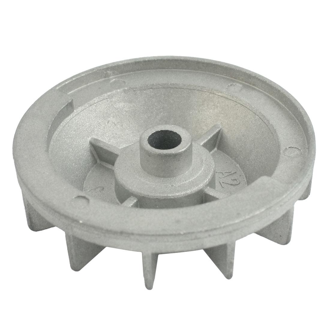 68mm Dia 12 Vanes Silver Tone Aluminium Motor Vane for Makita 4510 Sander