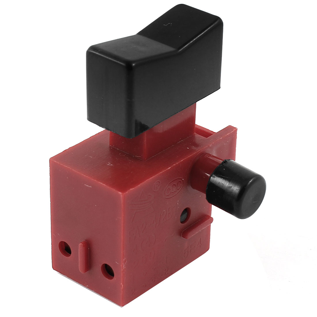 AC 250V 4A NO Momentary Select Locking Electric Tool Trigger Switch