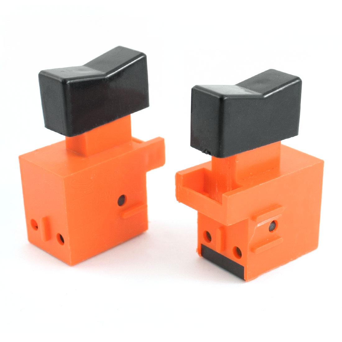 AC 250V 4A Electric Power Tool Normally Open DPST Momentary Trigger Switch 2pcs