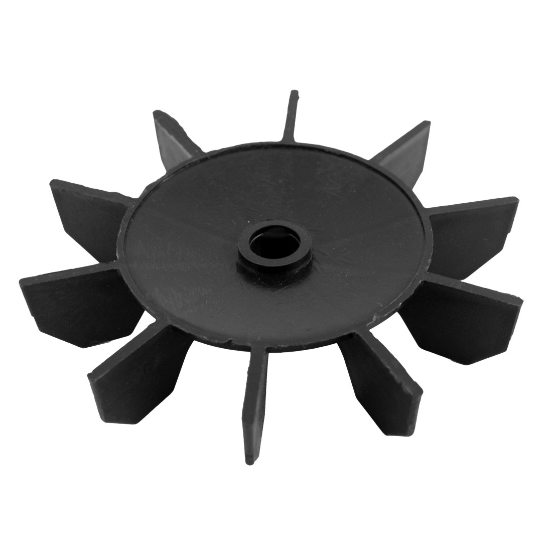 Machine Part Black Plastic 13mm Inner Diameter 10 Impeller Motor Fan Vane