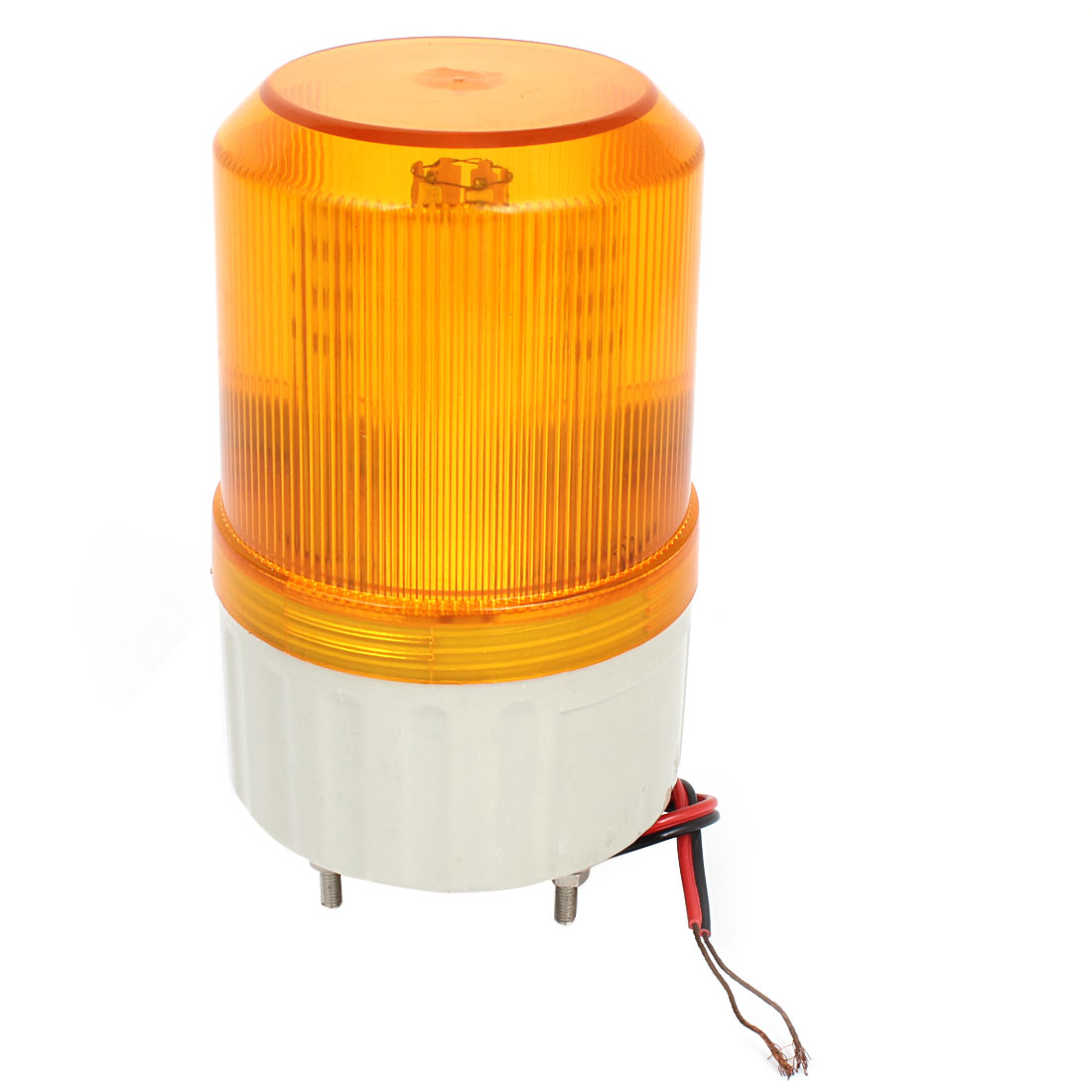 Yellow LED Flash Industrial Signal Tower Safety Stack Alarm Light DC 24V
