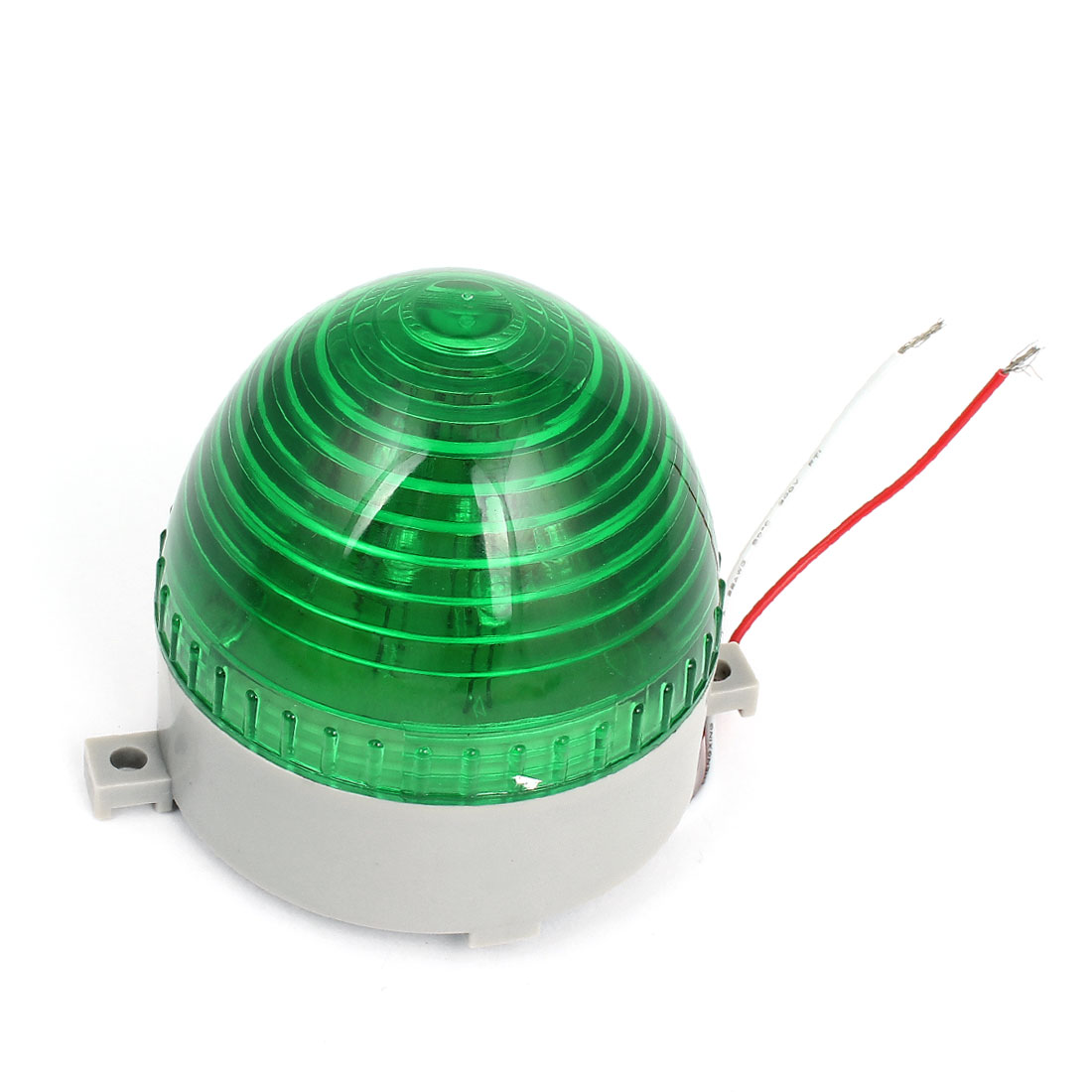 DC 24V Dome Shaped Industrial Emergency Green LED Flash Warning Light