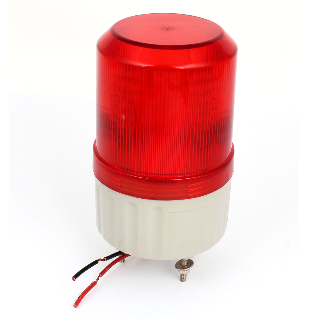 Red LED Flash Industrial Signal Tower Stack Buzzer Indicator Light Buzzer DC 24V
