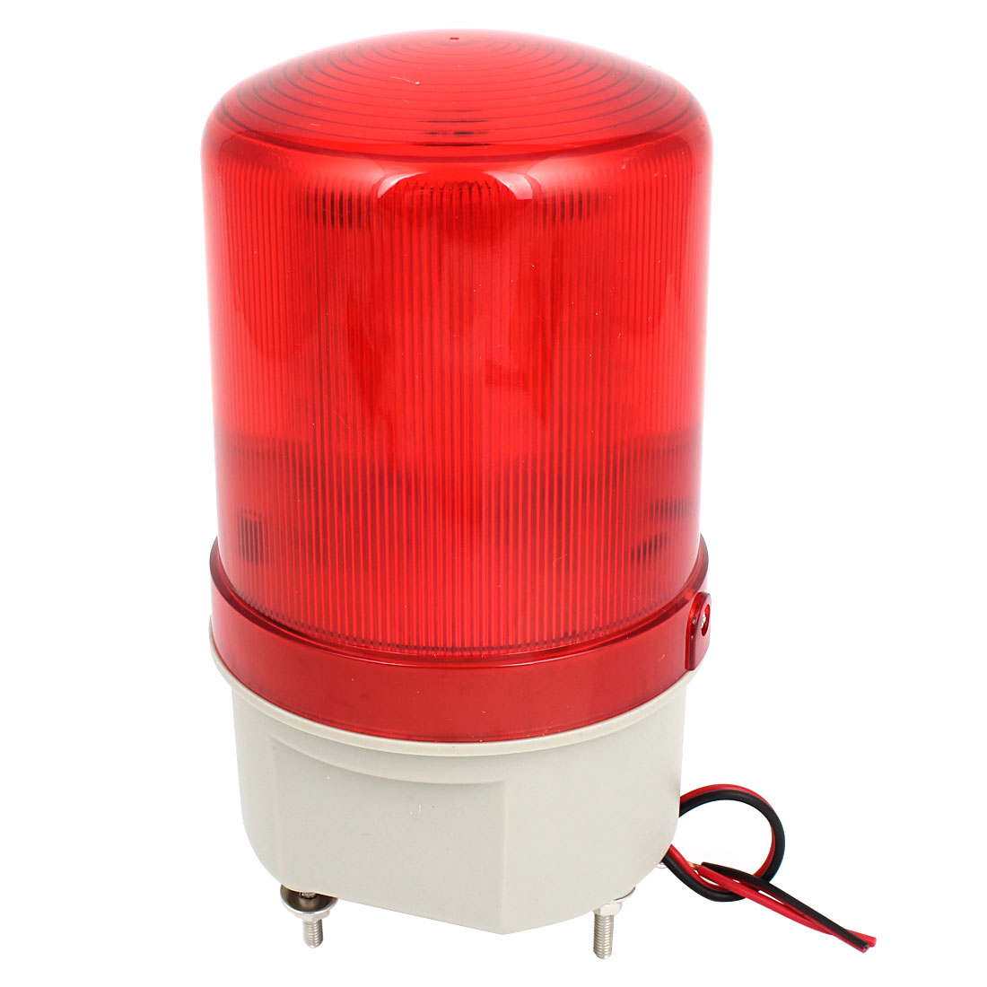 DC 24V Red LED Flashing Industry Signal Tower Warning Light Lamp