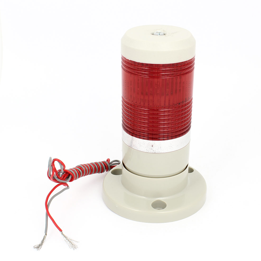 Red Industrial Signal Tower Safety Stack Alarm Light Bulb AC 220V