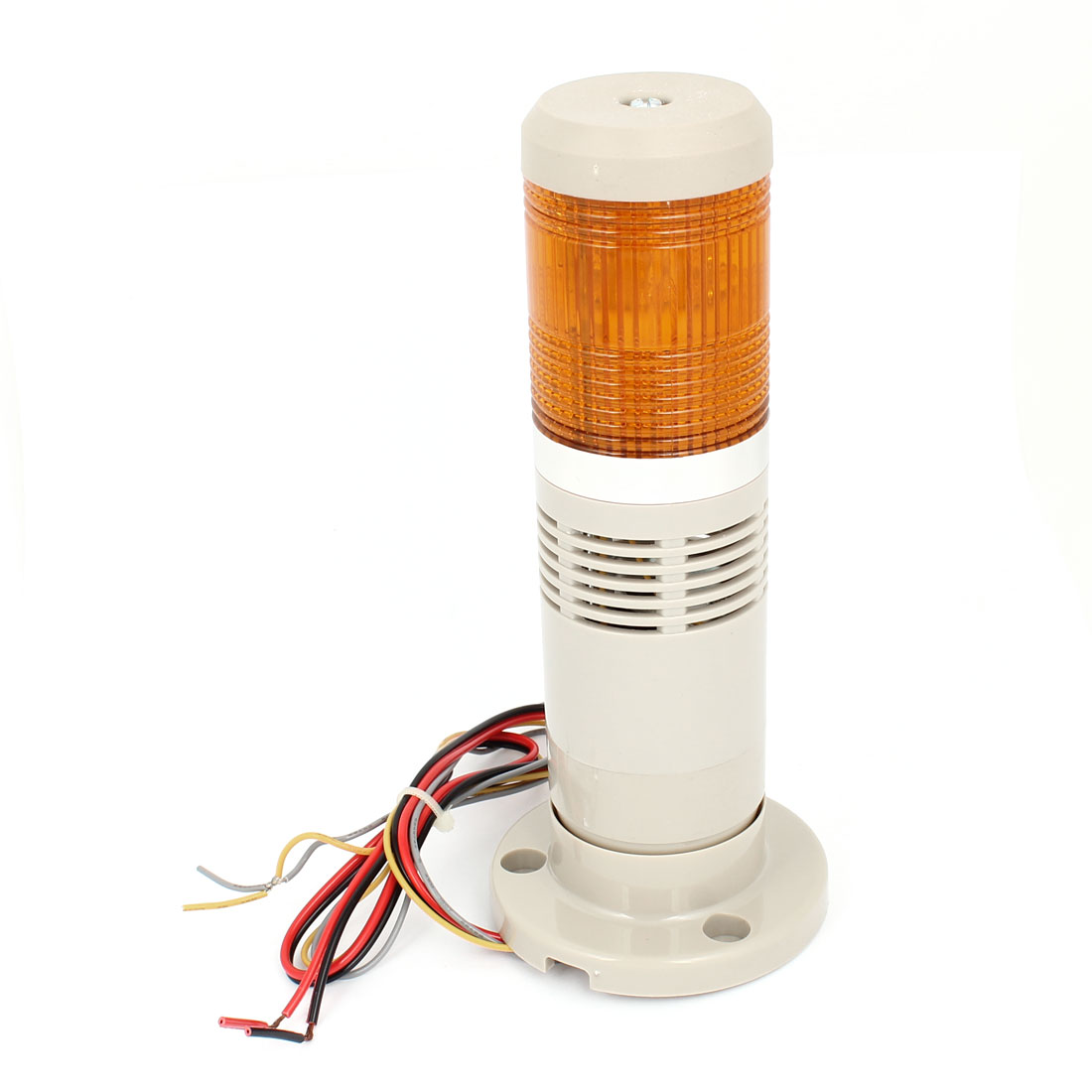 DC 24V Yellow LED Flash Industry Signal Tower Alarm Light Lamp