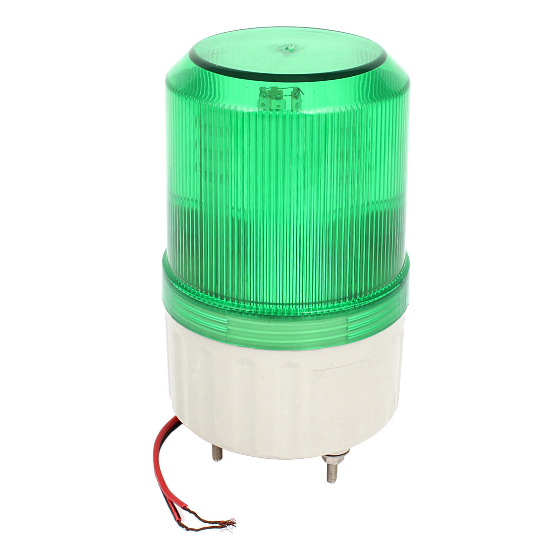 DC 24V Green LED Flash Industry Signal Tower Warning Light Lamp Buzzer 90dB