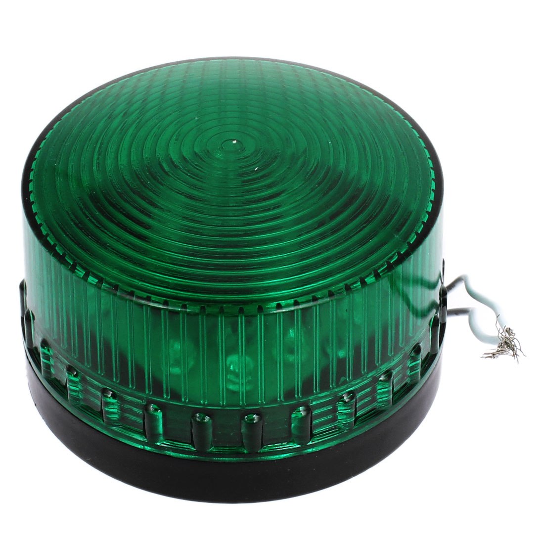 AC 220V Industrial Green LED Flash Strobe Signal Light Security Warning