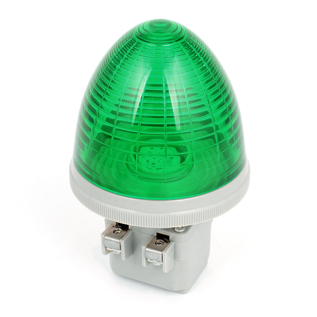 DC 24V 2 Screw Terminal Green LED Industrial Signal Light Indicator Lamp