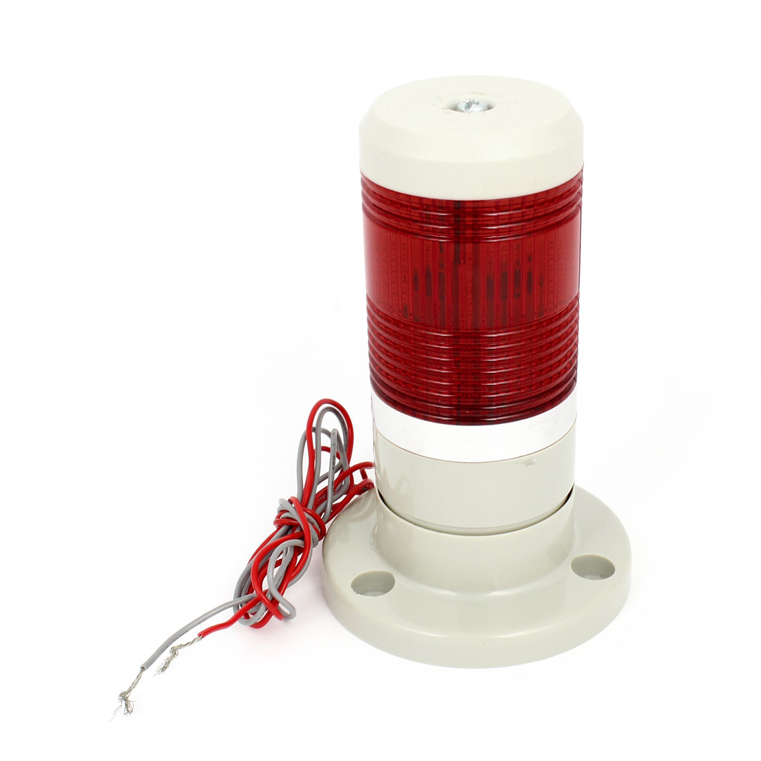 Red LED Industrial Signal Tower Safety Stack Alarm Light Bulb AC 220V