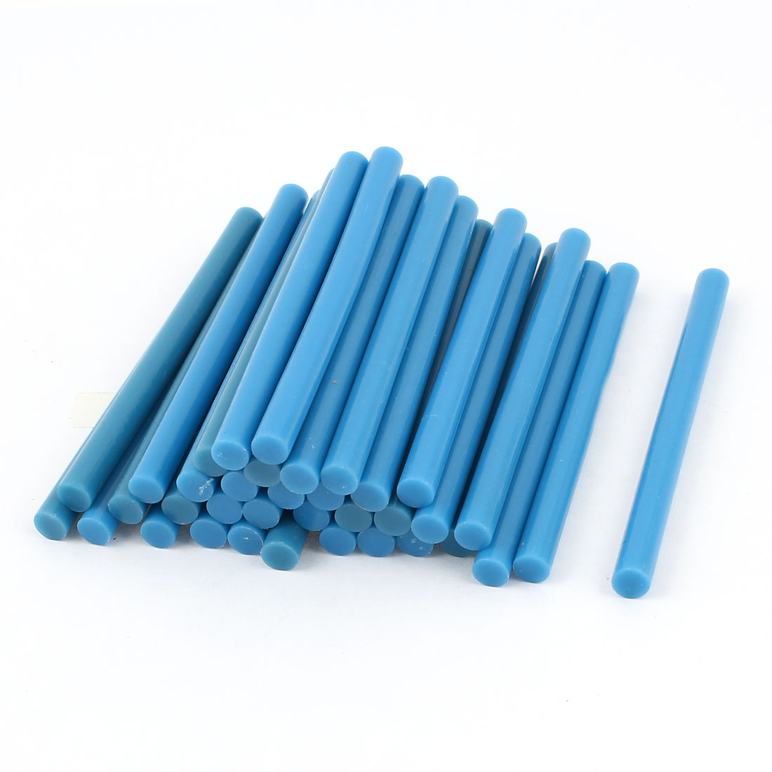 35 Pcs Blue Hot Melt Glue Gun Adhesive Sticks 7mm x 100mm