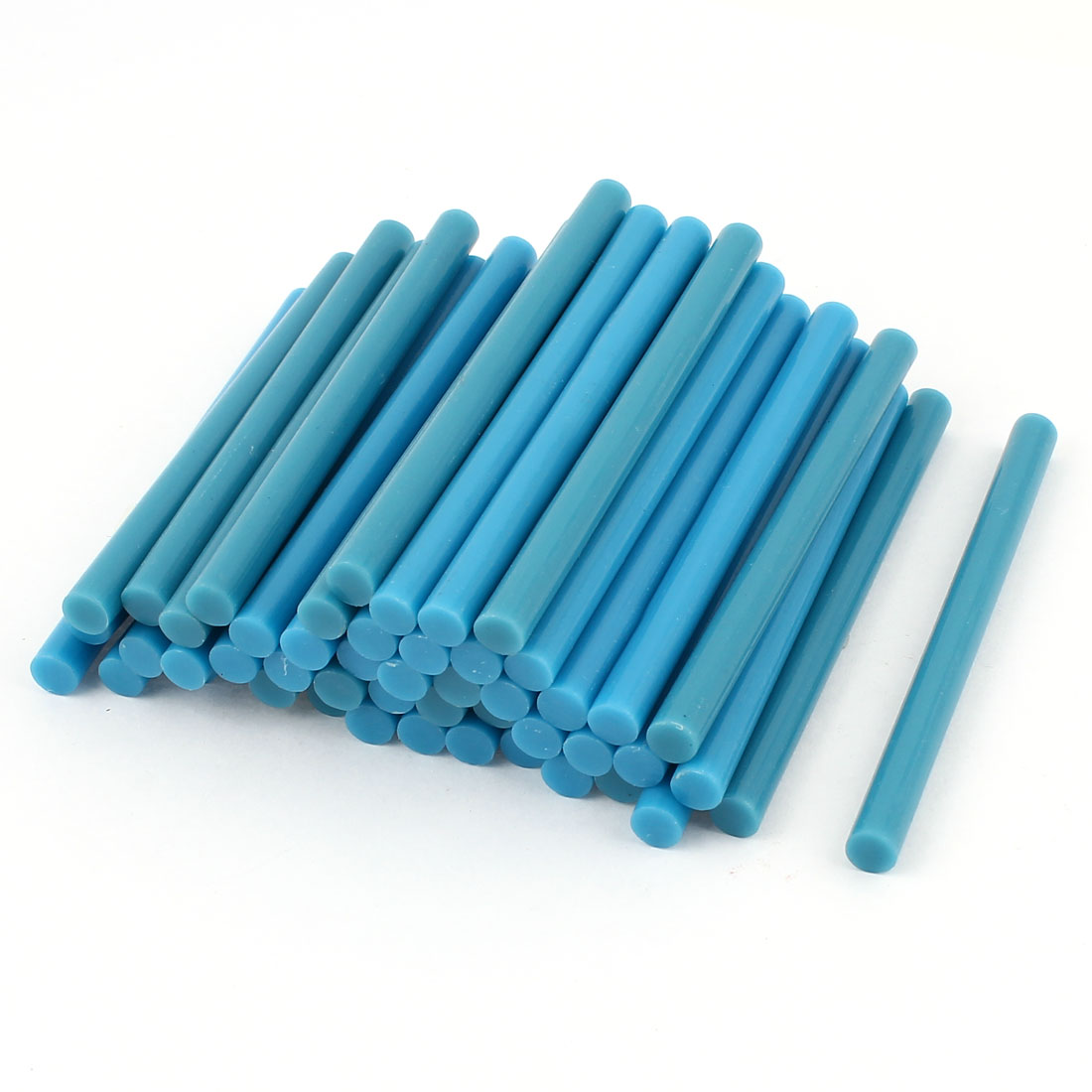 50 Pcs Blue Hot Melt Glue Gun Adhesive Sticks 7mm x 100mm