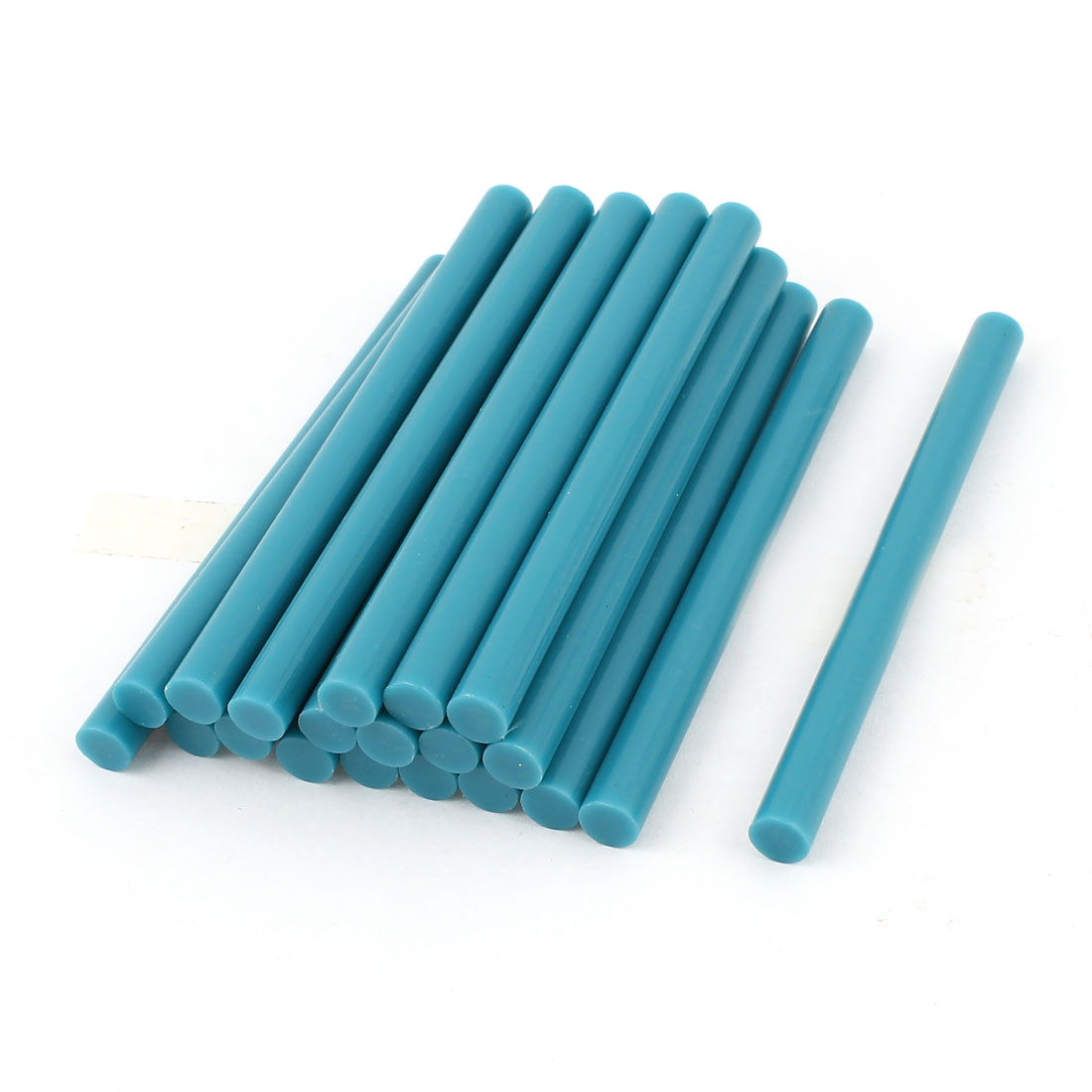 20 Pcs Teal Blue Hot Melt Glue Gun Adhesive Sticks 7mm x 100mm