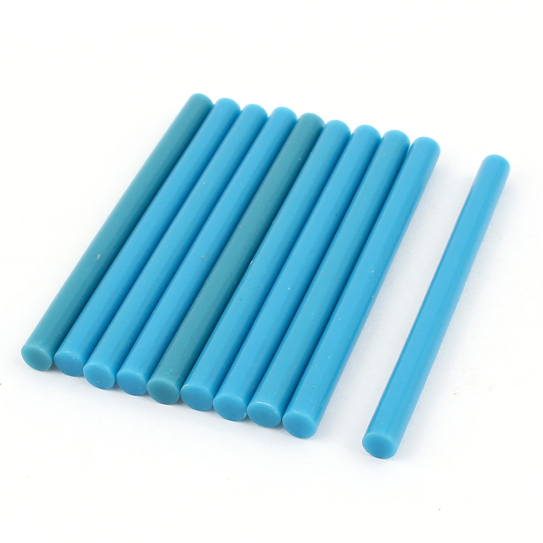 10 Pcs Blue Hot Melt Glue Gun Adhesive Sticks 7mm x 100mm