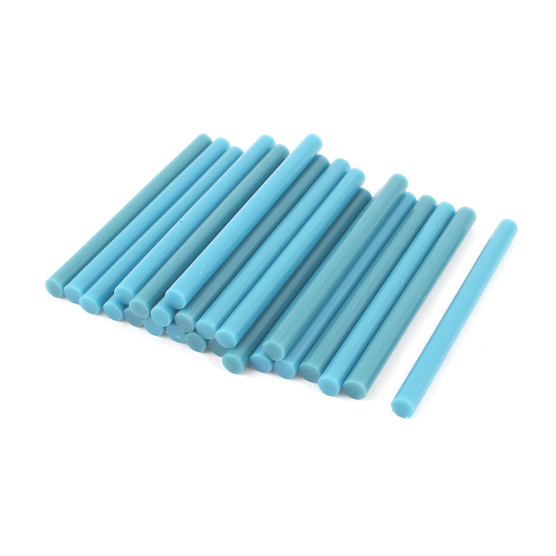 24 Pcs Blue Hot Melt Glue Gun Adhesive Sticks 7mm x 100mm