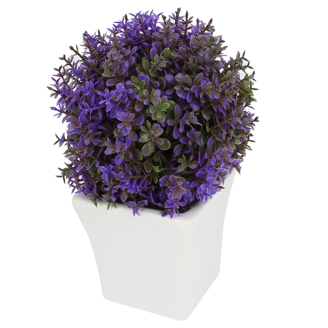 Home Decoration Artificial Tree Pot Office Decor Purple Tree Synthetic Bonsai