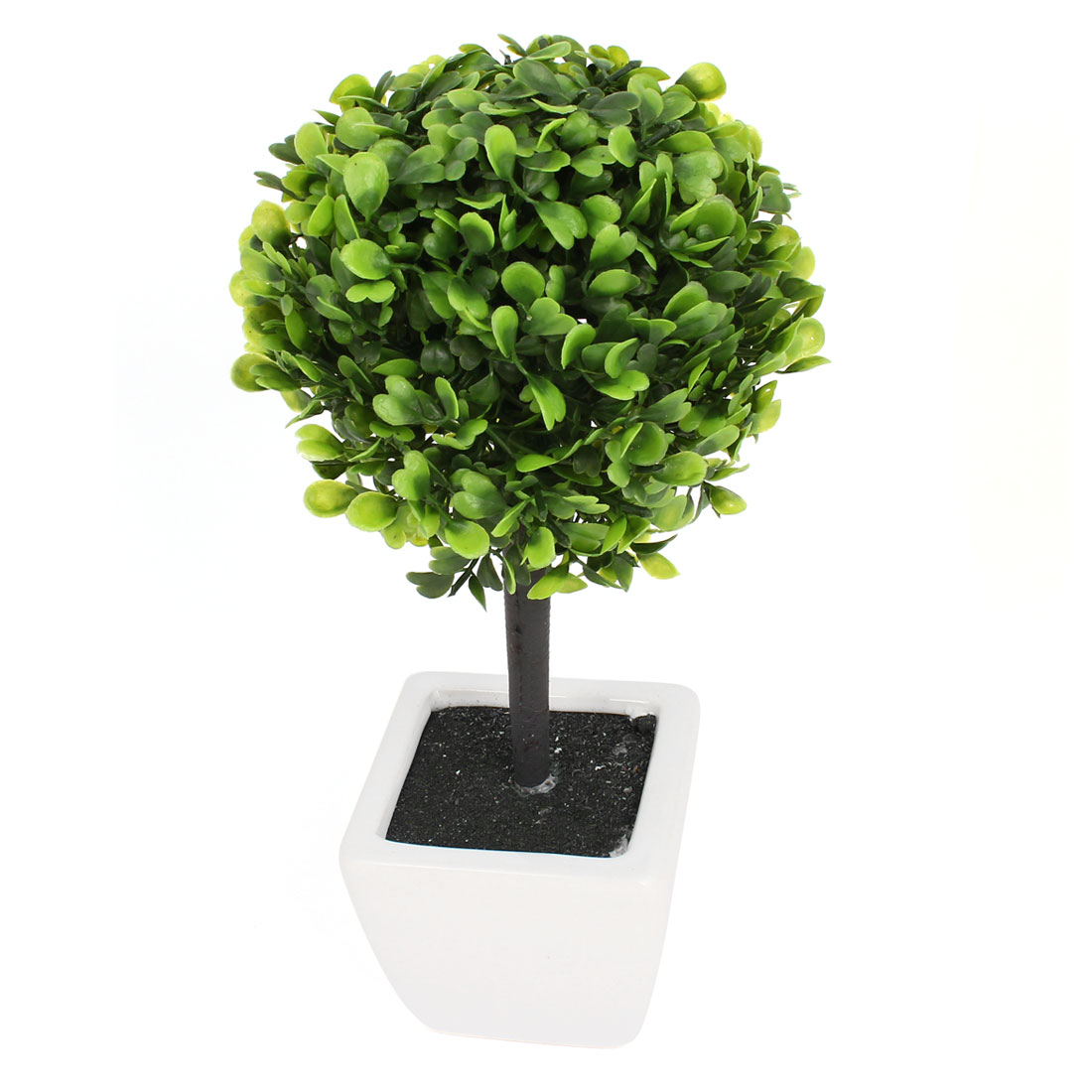 Artificial Bonsai Potted Love Plant Foliage Decor Decorative Home Office Green