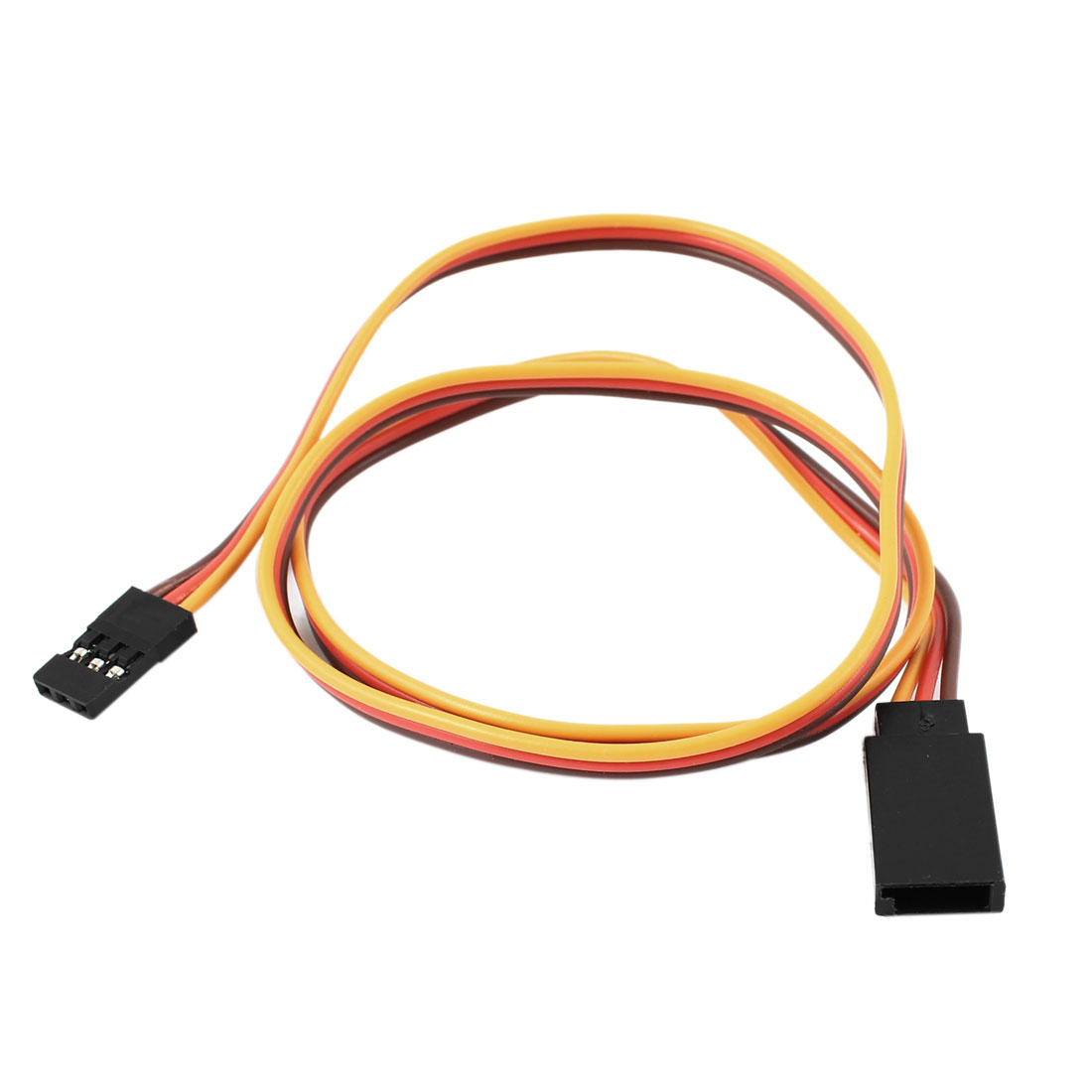 500mm Long 60 Core Servo Extension Lead Wire Cable for RC Airplane Car
