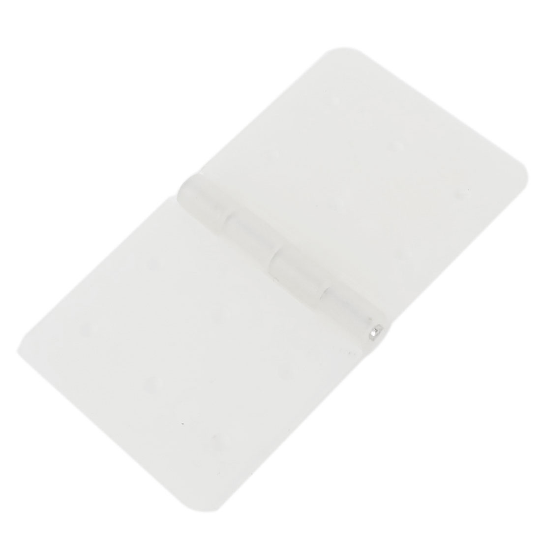 Folding White Nylon Pinned Hinges Parts 20mm x 36mm for RC Plane