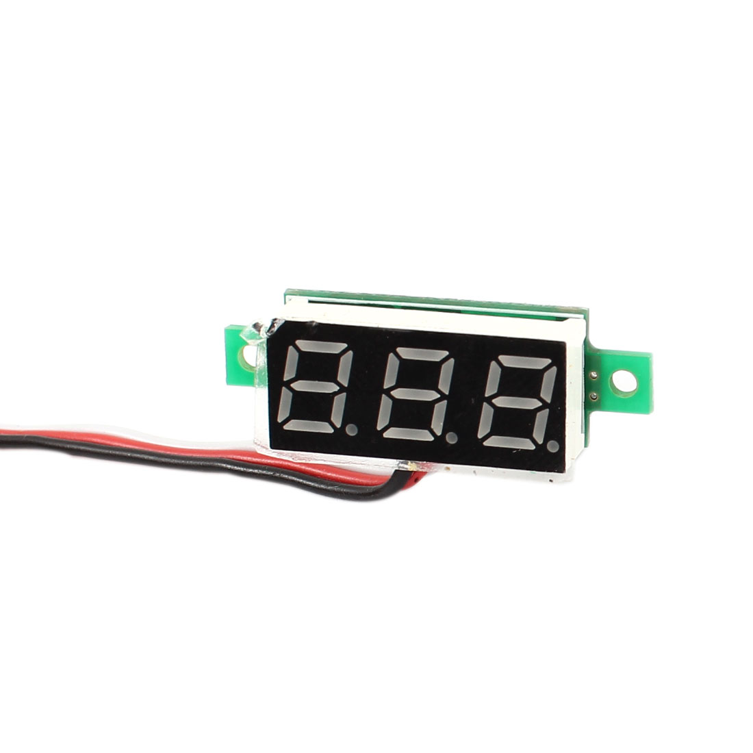 DC3.0-30V 3 Digital Voltmeter Blue LED Display Volt Tester Panel Meter Guage