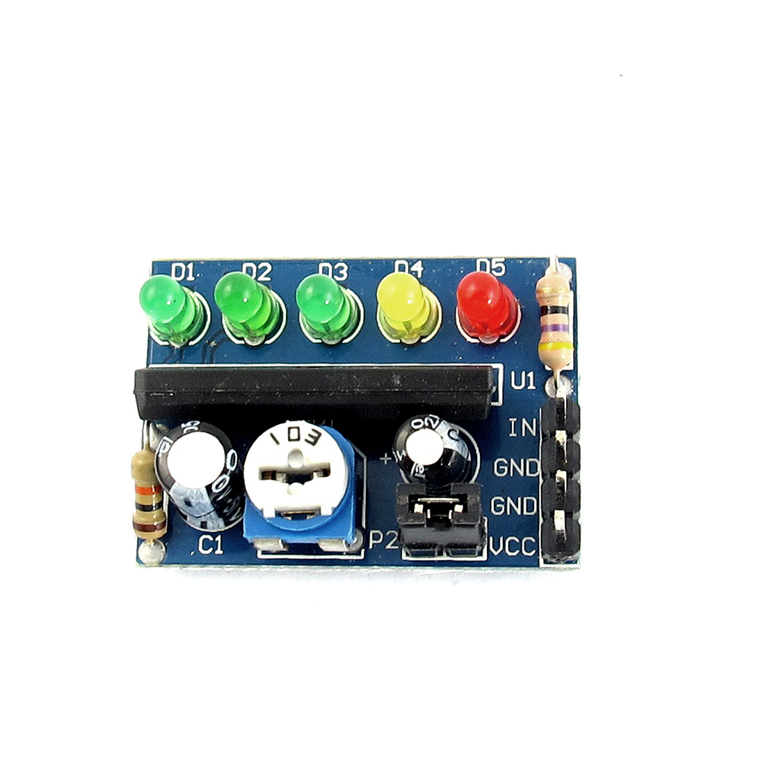KA2284 5 Diodes Electricity Audio Level Indicator Power Power Module PCB Board DC3.5V-12V