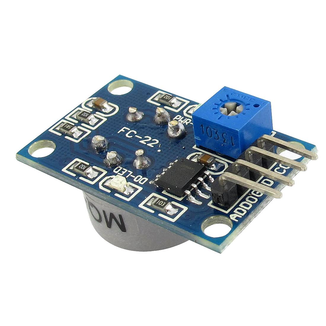 MQ-7 Flammable Gas Sensitive Tester Checker Detection Carbon Monoxide CO Sensor PCB Module DC 5V 150mA