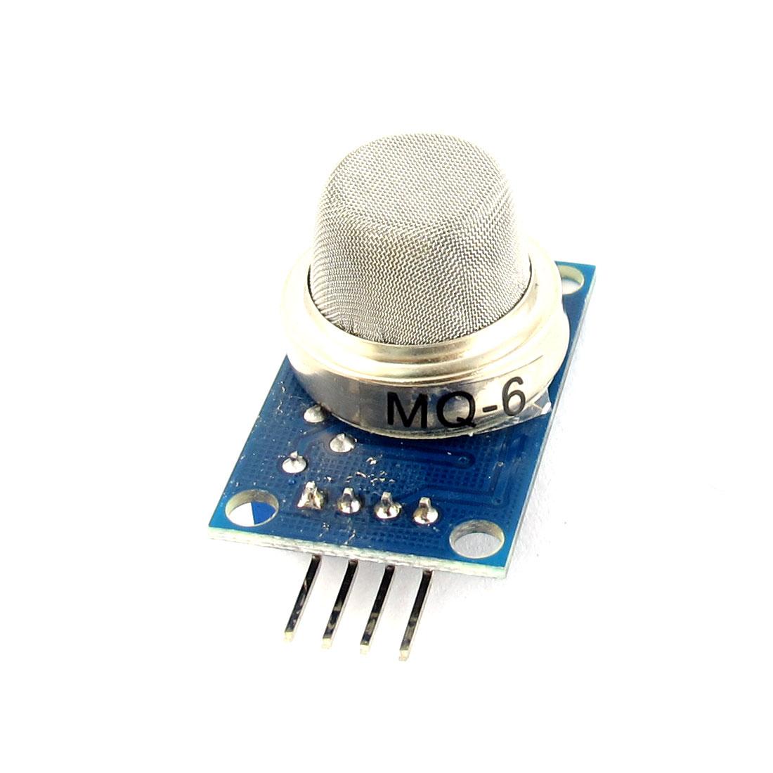 DC 5V 150mA MQ-6 Gas Sensor Module Liquefied Isobutane Propane Detection Module PCB Board