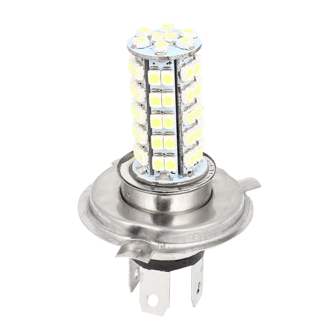 DC 12V Car Auto White H4 1210 68 LED Foglight Head Light Lamp Bulb