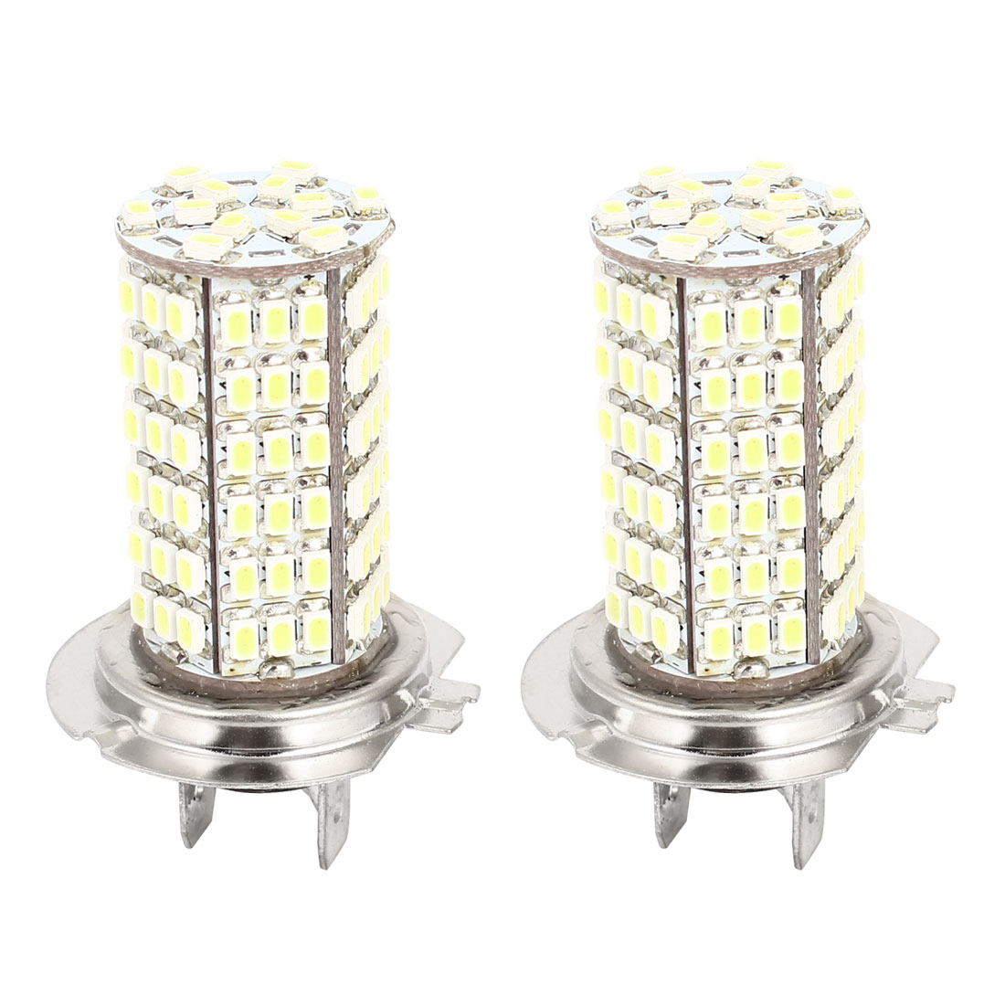 Car White LED 120 SMD 1210 Bulbs H7 Fog Daytime Light Lamp 2 Pcs