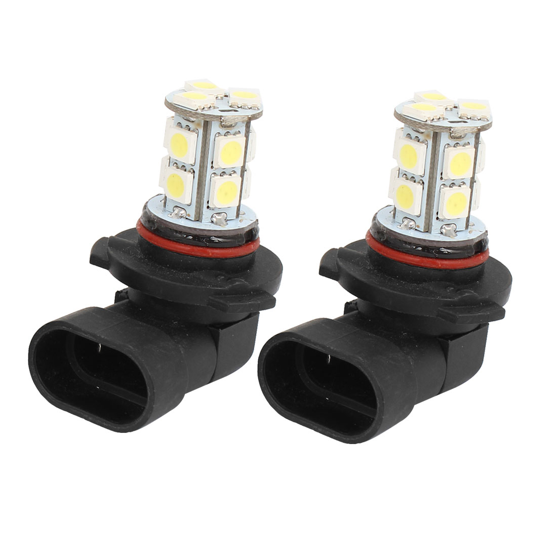 Car 13 LED 5050 SMD HB3 9005 HID White Fog Day DRL Light Lamp Bulb DC 12V 2 Pcs
