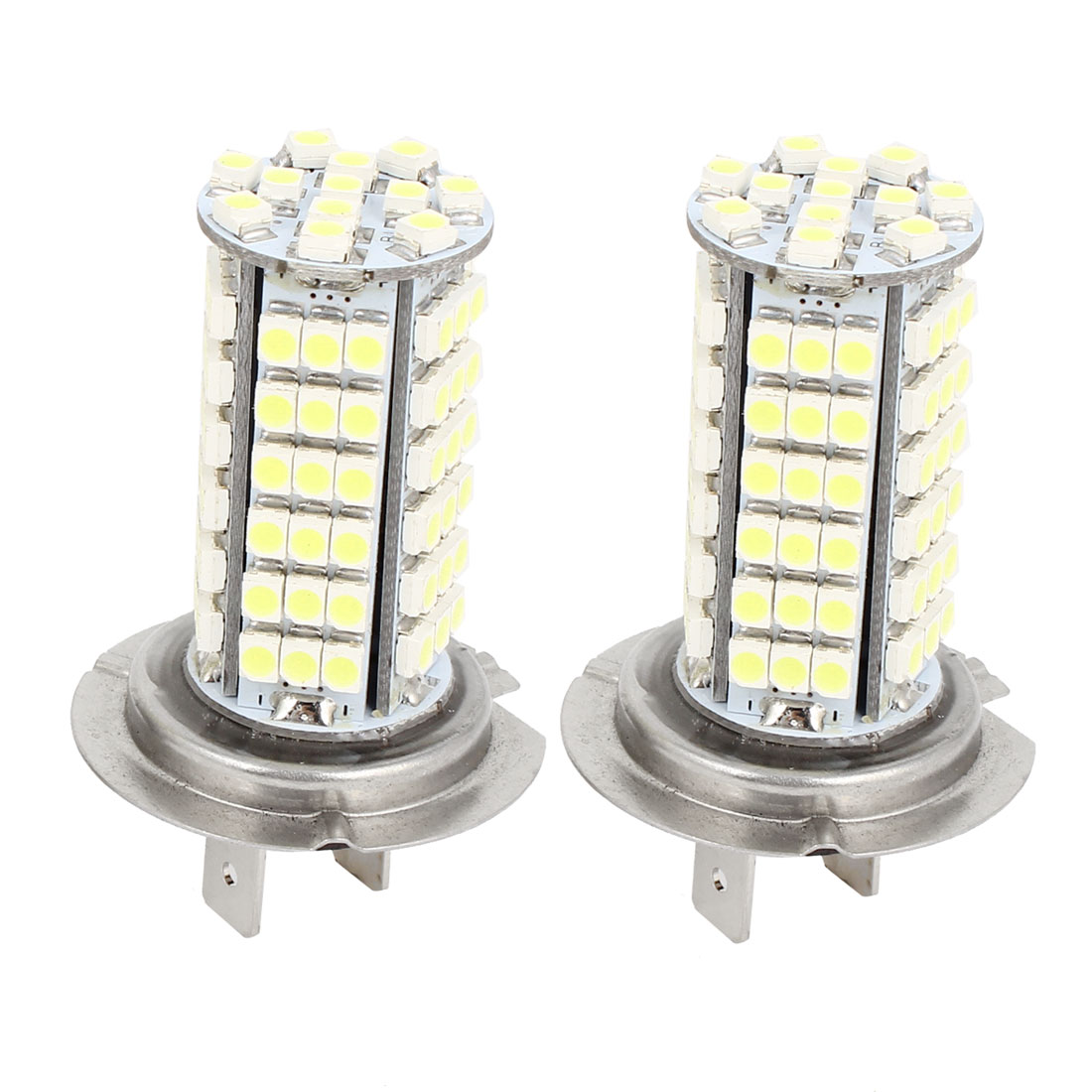 Car White LED 102 SMD 3528 Bulbs H7 Fog Daytime Light Lamp 2 Pcs