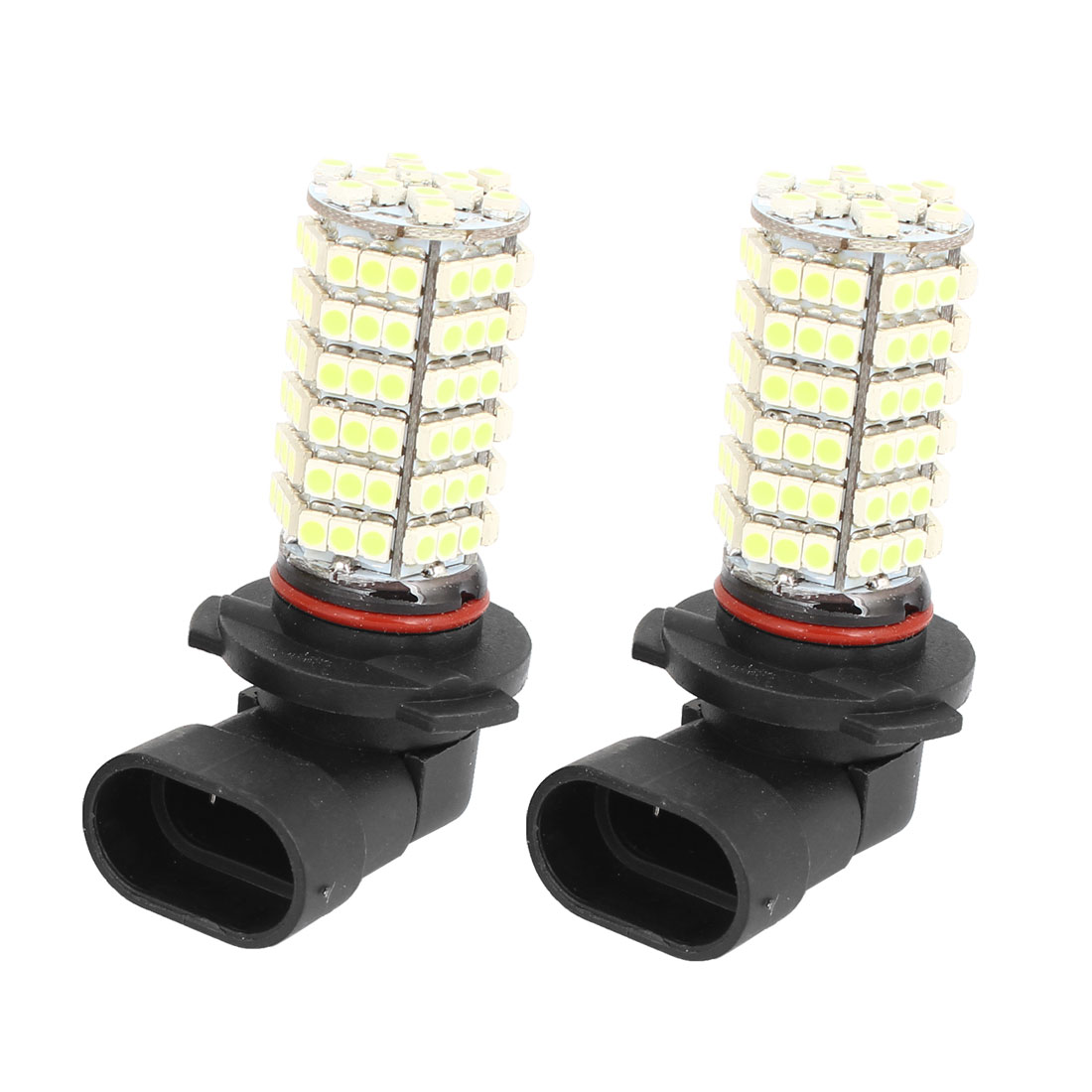 Car 120 LED 3528 1210 SMD HB3 9005 9155 HID White Fog Day DRL Light Lamp DC 12V 2Pcs