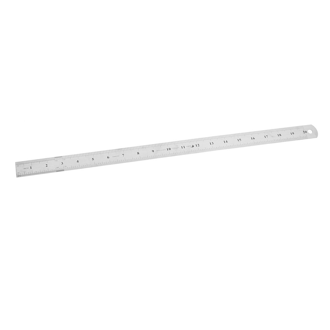 School Office Measurement Tool Dual Sides Straight Ruler Rule 50cm 20""