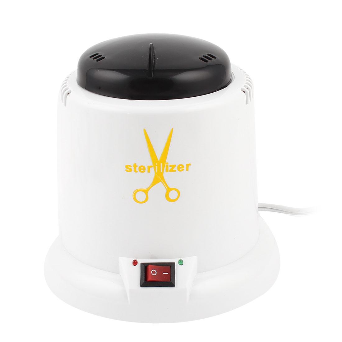 US Plug AC 110V Salon Nail Metal Nipper Tweezer Tools Clean Sterilizer Pot XDQ-501