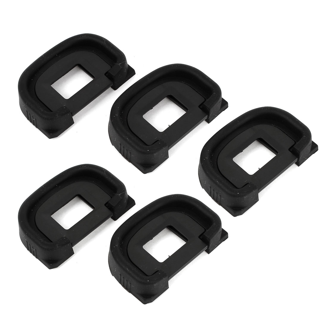5pcs Black Eyepiece Eye Cup Eyecup EC for Canon EOS 1Ds Mark II 1D 1Ds DSLR