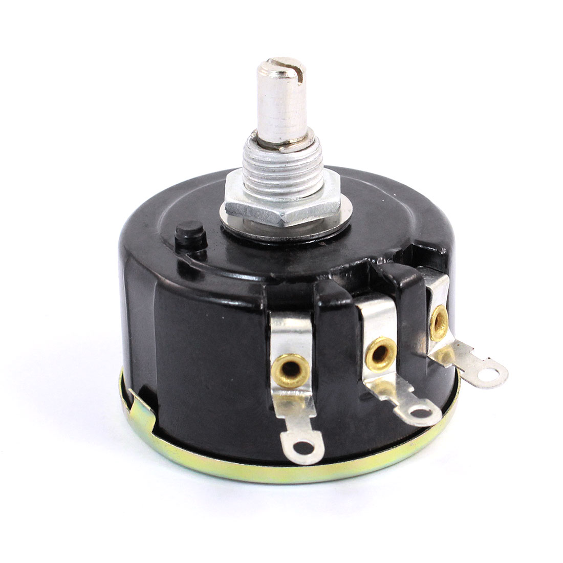 5W 10K Ohm Variable Resistor 3 Pin Wire Wound Potentiometer WX112(050)