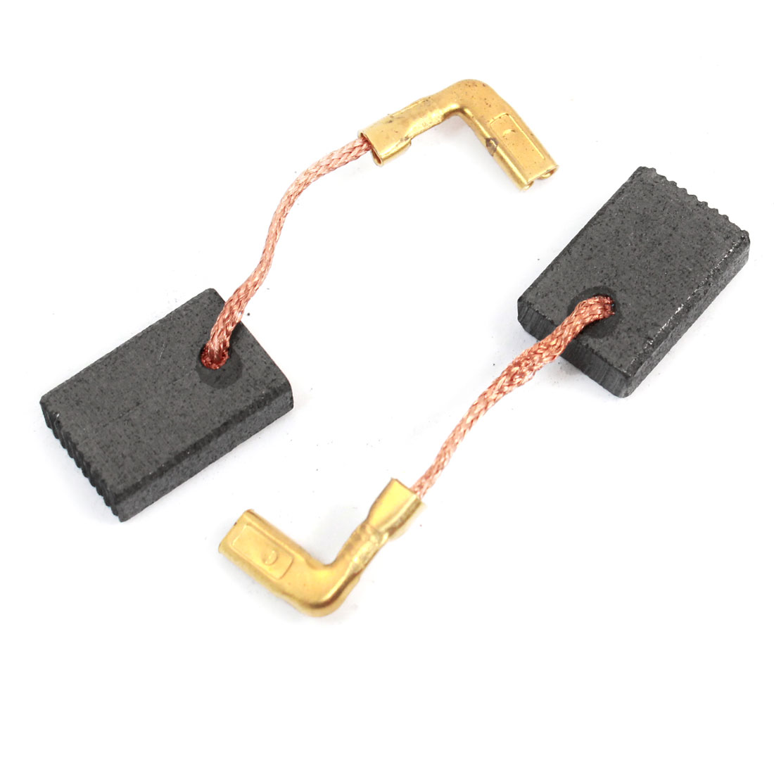 2 Pcs 16 x 11 x 5mm Carbon Brush for Bosch GBH11E Demolition Hammer