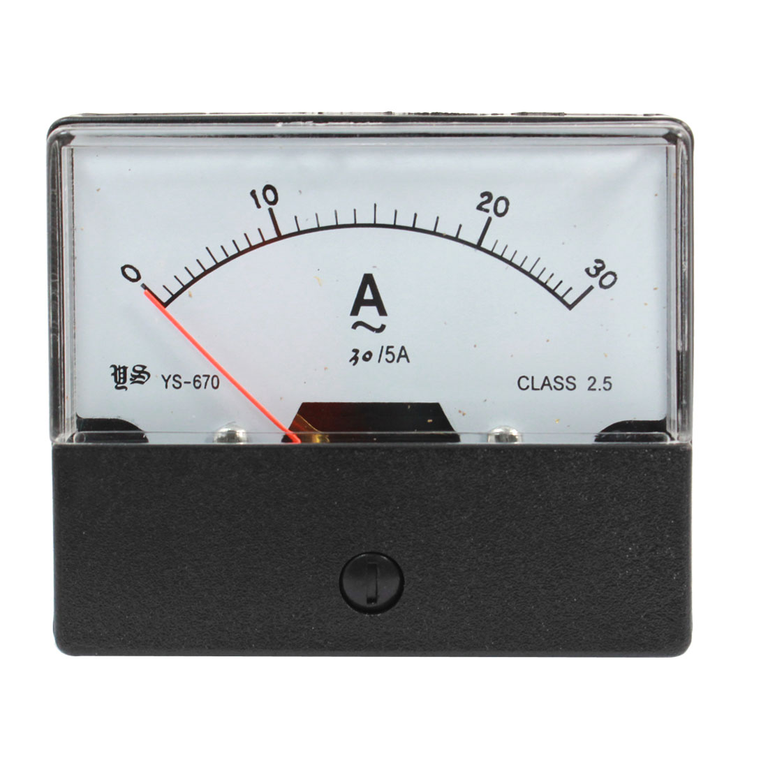 Class 2.5 Accuracy Analog Panel Meter Gauge Alternating Amperemeter AC0-30A