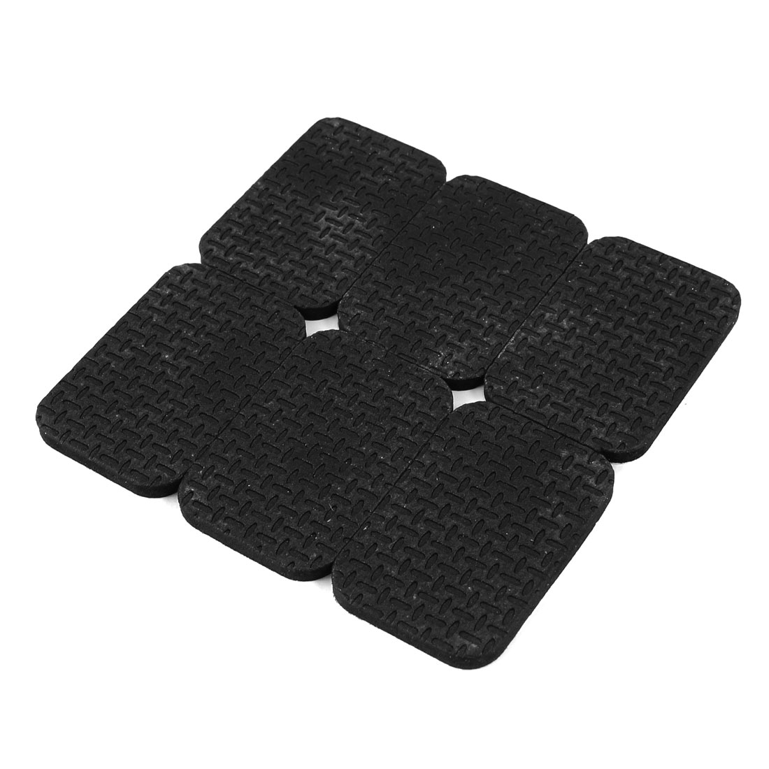 6 Pcs Rubber Floor Furniture Self Adhesive Pads Protector