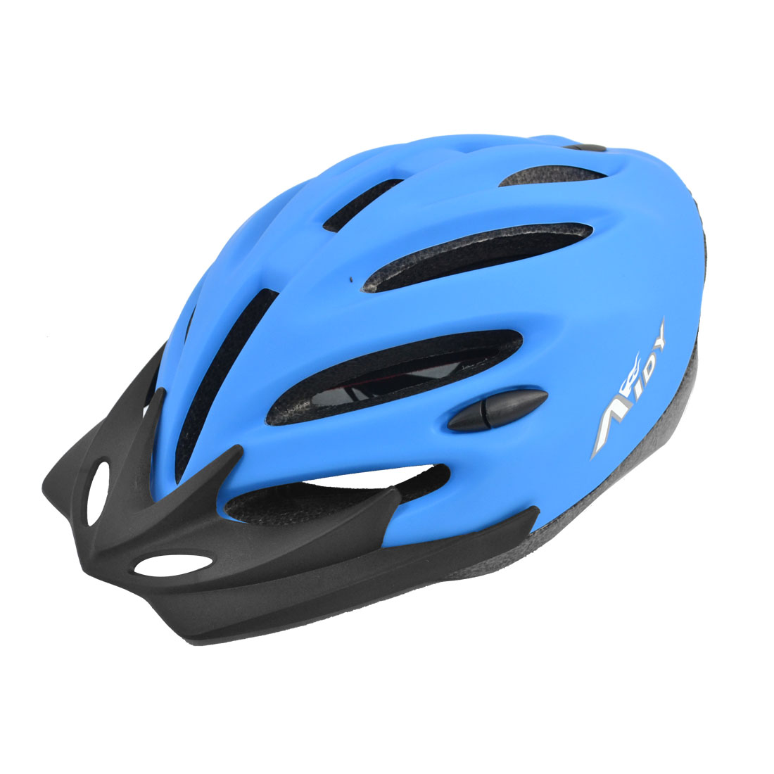 Adult Blue Charactor Pattern Pad Adjustable Head Strap PVC 58-63cm Outdoor Safety Bicycle Bike Skateboard Helmet